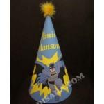 کلاه تولد طرح چاپی بتمن