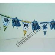 batman birthday string with characters of batman  movies