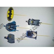 batman toothpick for birthday party