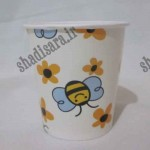 لیوان مقوایی تولد زنبوری