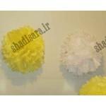 گل توپی کاغذی تولد زنبوری