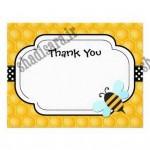 کارت تشکر و پاکت تولد زنبوری