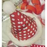 کلاه برجسته جشن تولد تم کریسمس