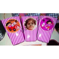 popcorn box for dora birthday party