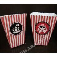 Pirate  pop corn box