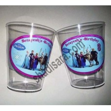 glasses for FROZEN birthday party theme