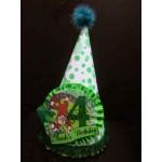 کلاه برجسته جشن تولد تم جنگل