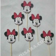 Minnie mouse  Toothpick