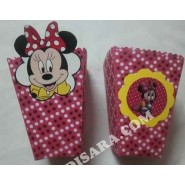 Minnie mouse party Popcorn pack