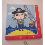 دستمال کاغذی با طرح  دزد دریایی