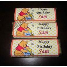 نمونه تزیین شکلات تولد