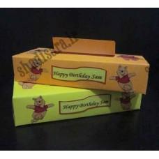 جعبه دستمال کاغذی تولد پو