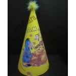 کلاه تولد چاپی پو