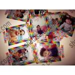 ریسه از عکسهای کودک رنگین کمان