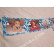 Smurfs party Photo banner