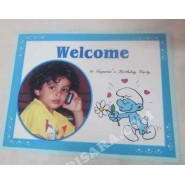 Smurfs  Welcome banner