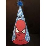 کلاه تولد چاپی مرد عنکبوتی