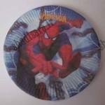 بشقاب کیک خوری مقوایی تولد مرد عنکبوتی
