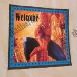 آویز خوشامدگویی تولد مرد عنکبوتی