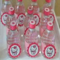 برچسب نوشیدنی کوچک هلو کیتی