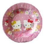 نمونه بشقاب کیک خوری مقوایی تولد