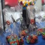 شکلات تولد با تزیین انگری بردز